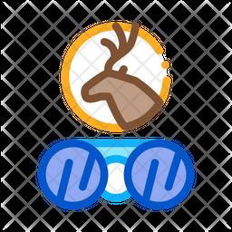 Deer Binocular Icon