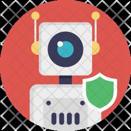 Defense Robot Icon