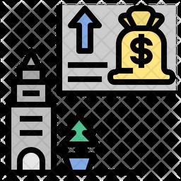 Deflation Icon