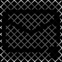 Delete Line Icon