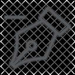 Delete Anchor Tool Icon