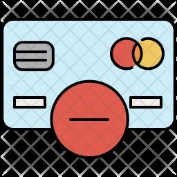 Delete card Icon