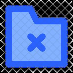 Delete Folder Icon