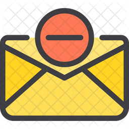 Delete Mail Icon