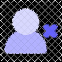 Delete-user Icon