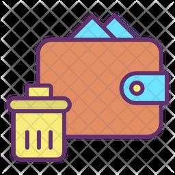 Delete Wallet Icon