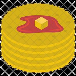 Delicious Pancake Icon
