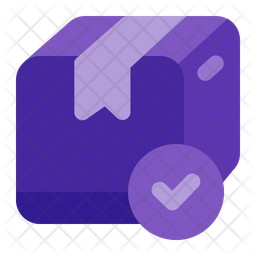 Delivered Package Flat Icon