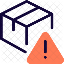 Delivery Box Warning Icon
