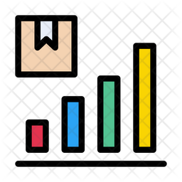 Delivery Graph Icon Of Colored Outline Style Available In Svg Png Eps Ai Icon Fonts
