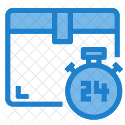 Delivery  hour Icon