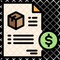 Delivery Invoice Icon