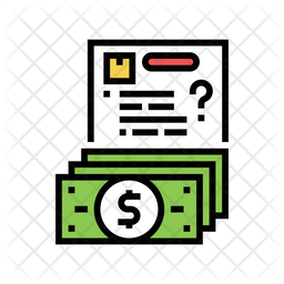 Delivery Payment Invoice Icon