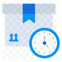 Delivery Time Flat Icon