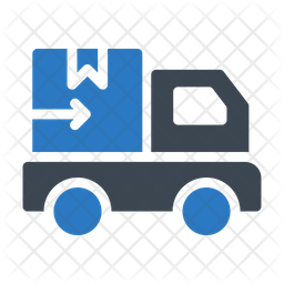 Delivery Truck Flat Icon
