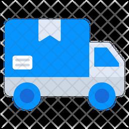 Delivery Van Flat Icon