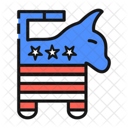 Democratic Party Symbol Icon
