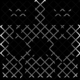 Demonstration Glyph Icon