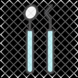 Dental Tools Icon