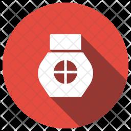 Depilation Glyph Icon