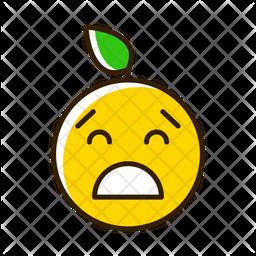 Depressed Emoji Icon