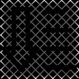 Descending Order Line Icon