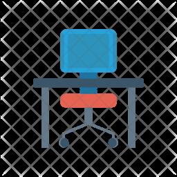Desk Flat Icon