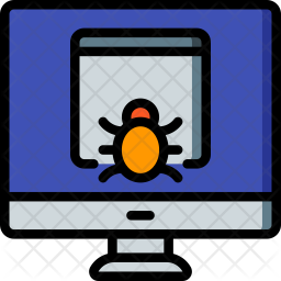 Desktop Malware Icon png