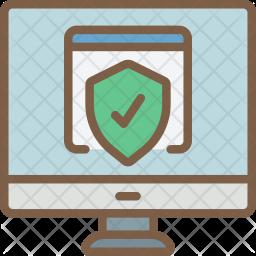 Desktop Shield Icon png