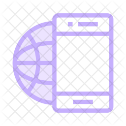 Device Colored Outline Icon
