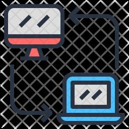 Device communication Icon