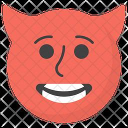 Devil Face Emoji Icon