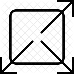 Diagonal Icon