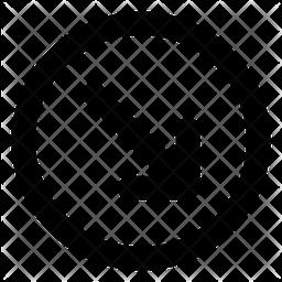 Diagonal down right arrow Icon