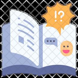 Dialog Book Icon
