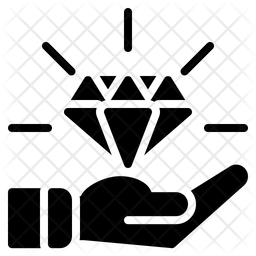 Diamond Glyph Icon