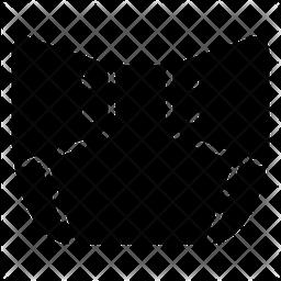 Diaper Glyph Icon