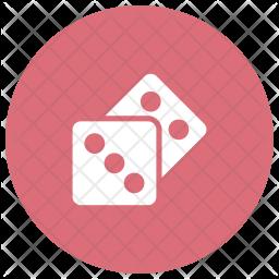 Dice Glyph Icon