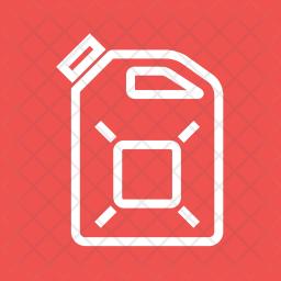 Diesel Line Icon