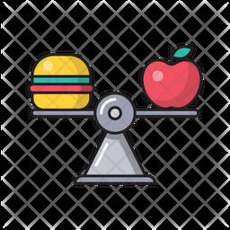 Diet Balancing Icon