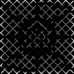 Digital Banking Glyph Icon