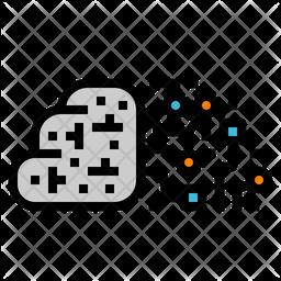 Digital Brain Icon