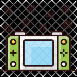 Digital Camera Colored Outline Icon