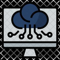 Digital Computing Technologies Icon