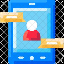 Digital Consulltation Flat Icon