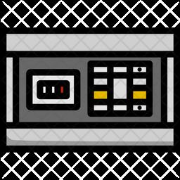 Digital Eclectic Box Icon