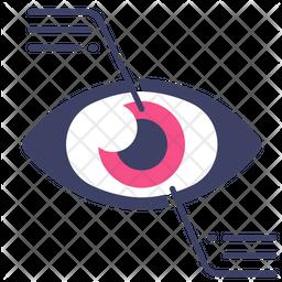 Digital Eye Icon