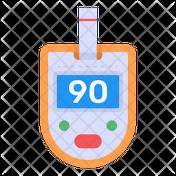 Digital Glucometer Icon