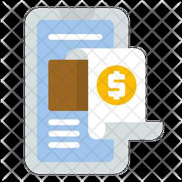 Digital invoice Icon