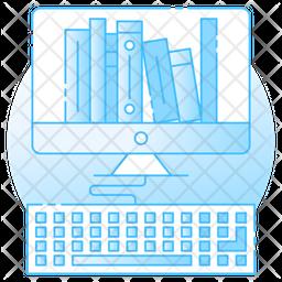 Digital Library Icon
